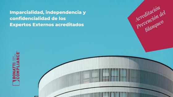 Expertos Externos independencia ENAC Bonatti