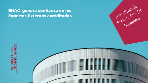 ENAC genera confianza experttos externo blanqueo capitales